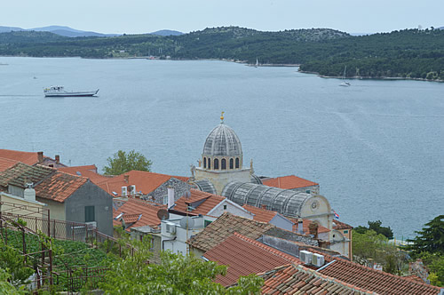 Sibenik and the harbour