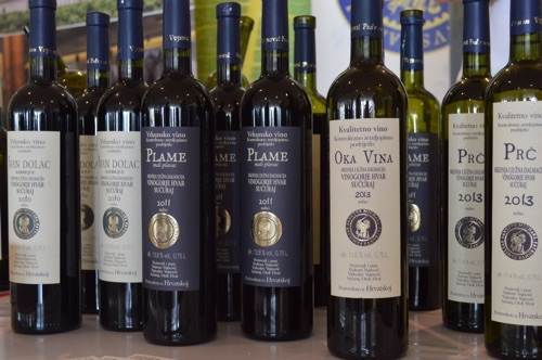 Vujnović wines from Hvar