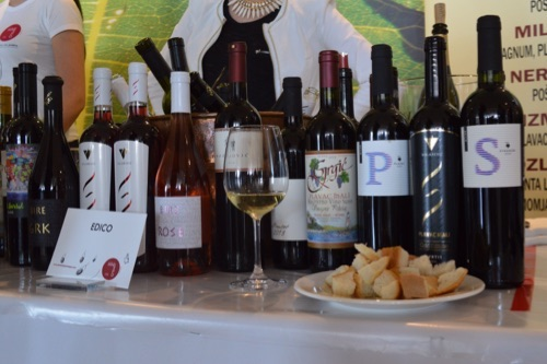 Sekection of southern Dalmatian wines
