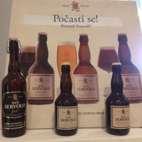 San Servolo Istrian beer