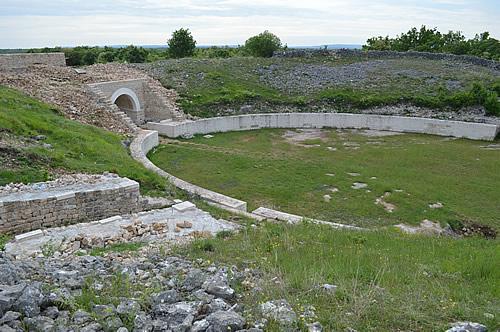 Amphitheatre entrance