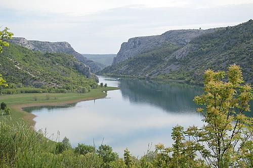 View back to Visovac lake