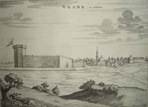 Vrana under Ottoman rule, 17th century