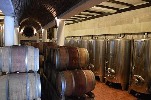 Boškinac wine cellar