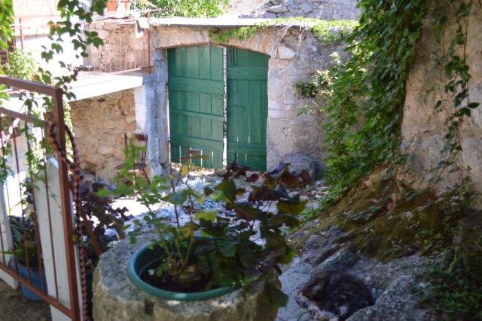 The door to Marinka's studio