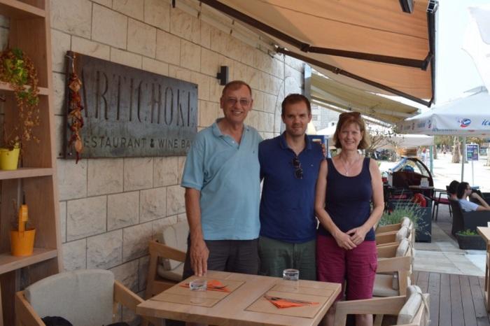 With owner  Dino Pavičić