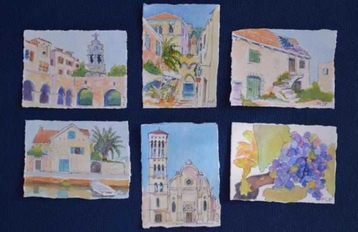 My set of mini-paintings