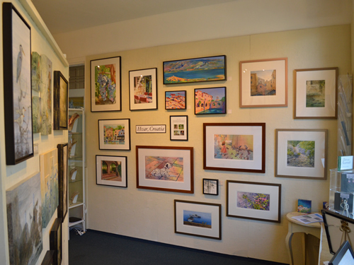Paintings on show
