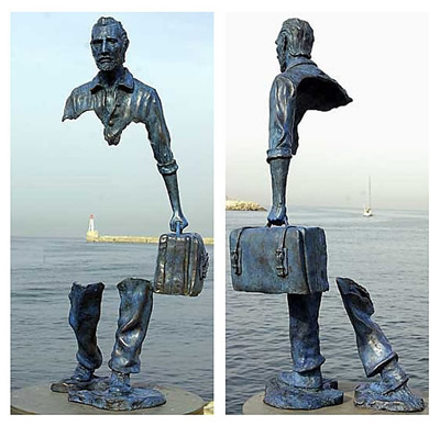 Voyageurs by Bruno Catalano