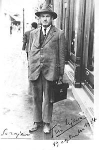 Tin Ujević in Sarajevo, 1934