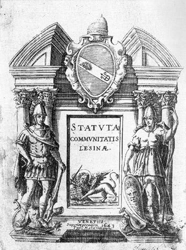 Statuta Communitatis Lesinae