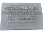 Nicolo Alighieri Plaque