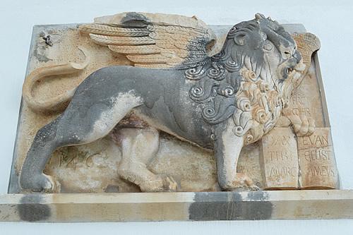Winged lion of Venice, Hvar town