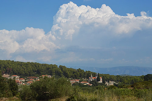 Clouds over Svirče