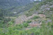 Rugged terraces
