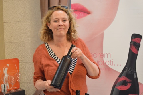 Jo Ahearne with her new Rosina rosé