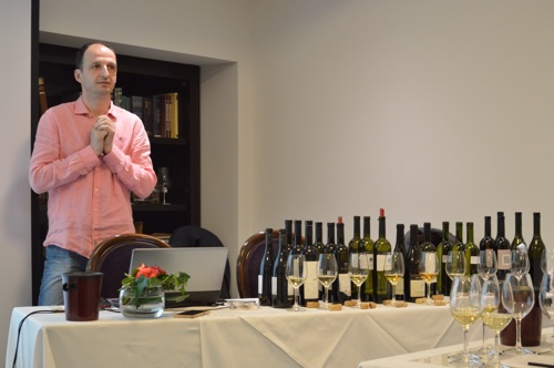 Saša Špiranec guides us through a tasting of big whites from Croatia