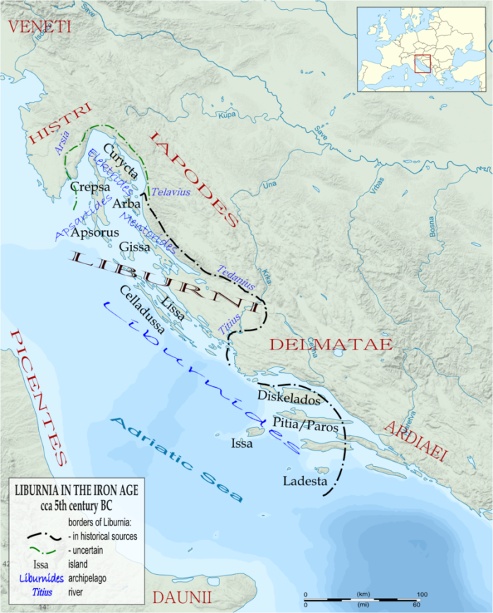 Liburnia in the 5th centry BC