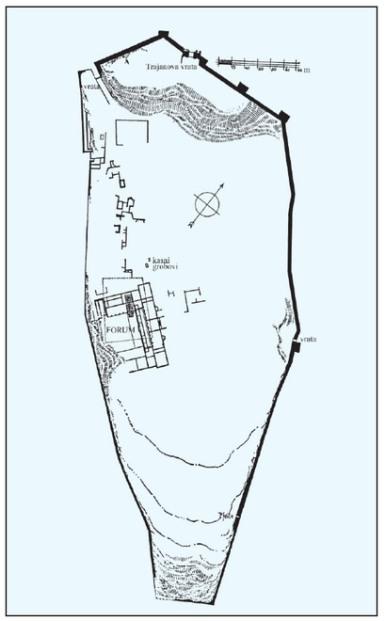 Plan of Asseria