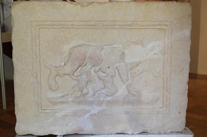 Romulus & Remus relief