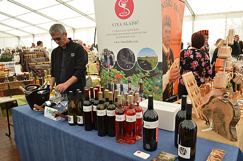 Craft Fair in Skradin with Sladić wines