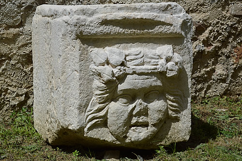 Stone carving from Asseria