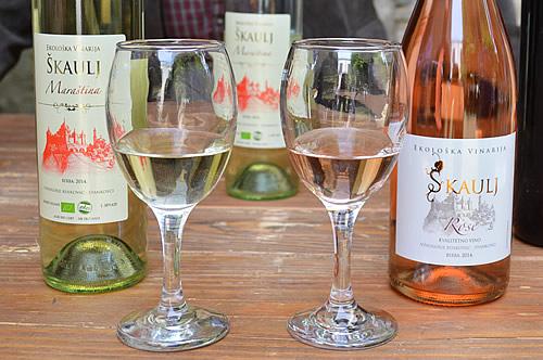 Škaulj Maraština and rosé