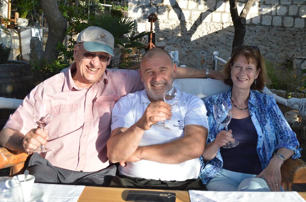 With Chef Hrvoje
