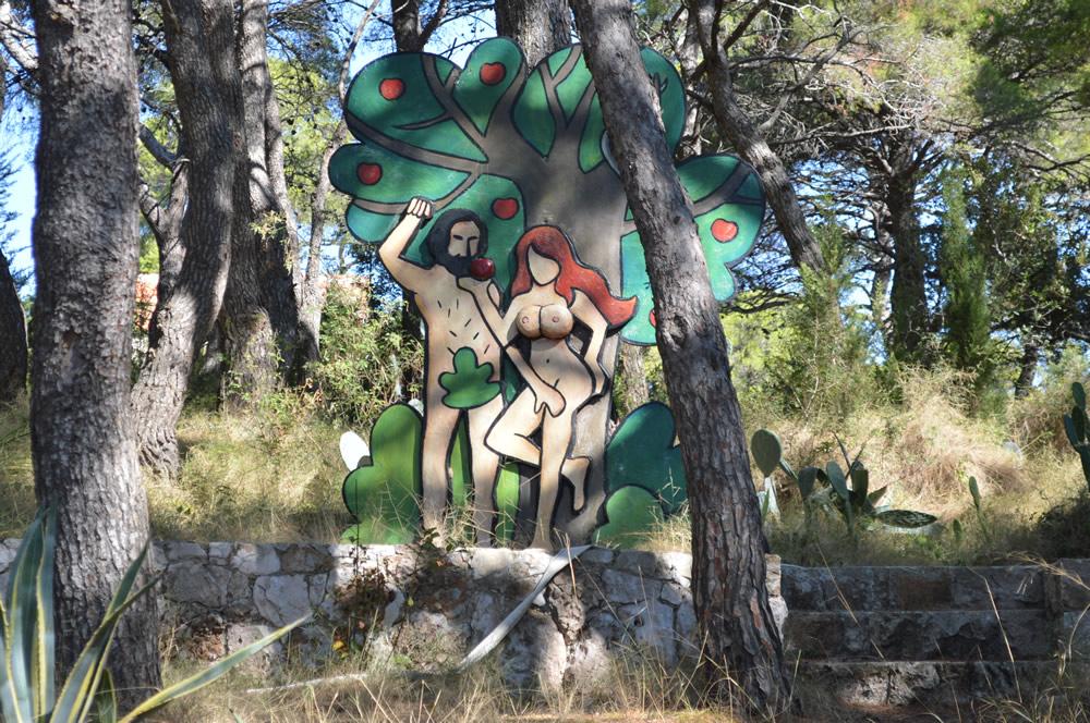 Adam & Eve among the trees