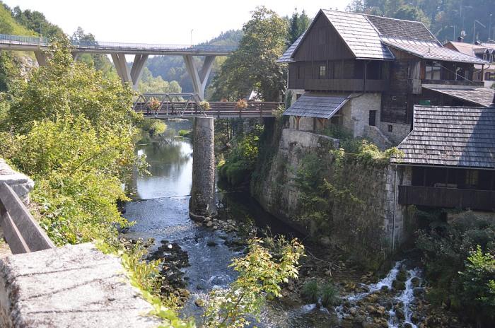 Bridge over Rastoke