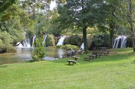 Waterfall meadow