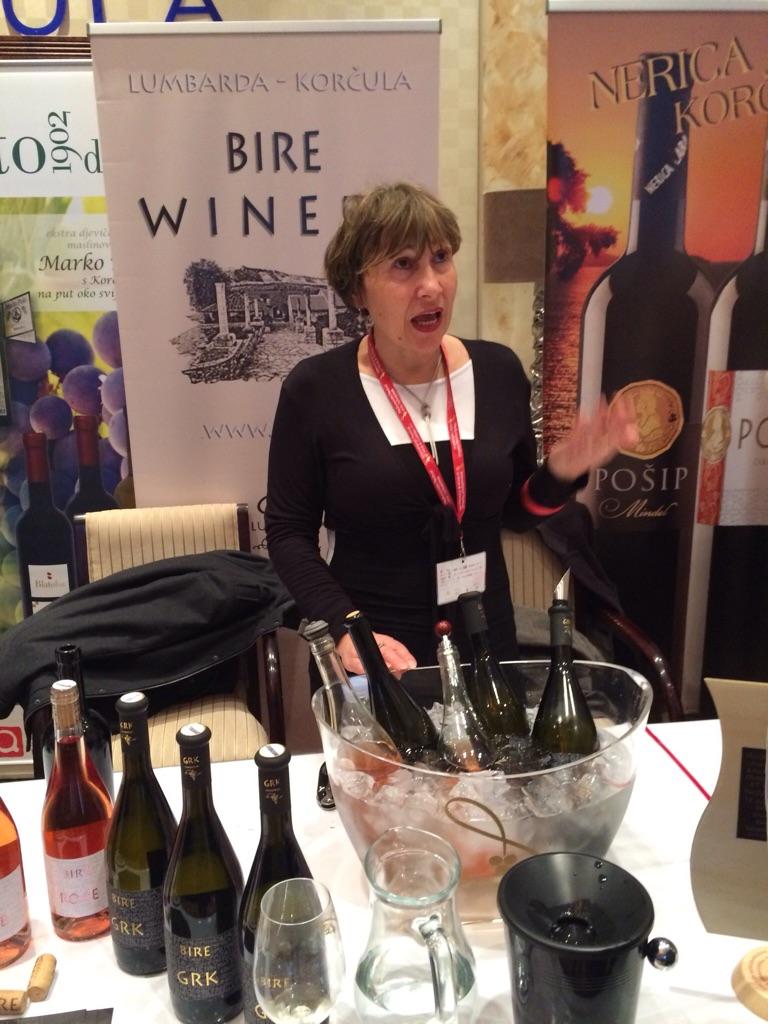 Višnja showing Bire wines