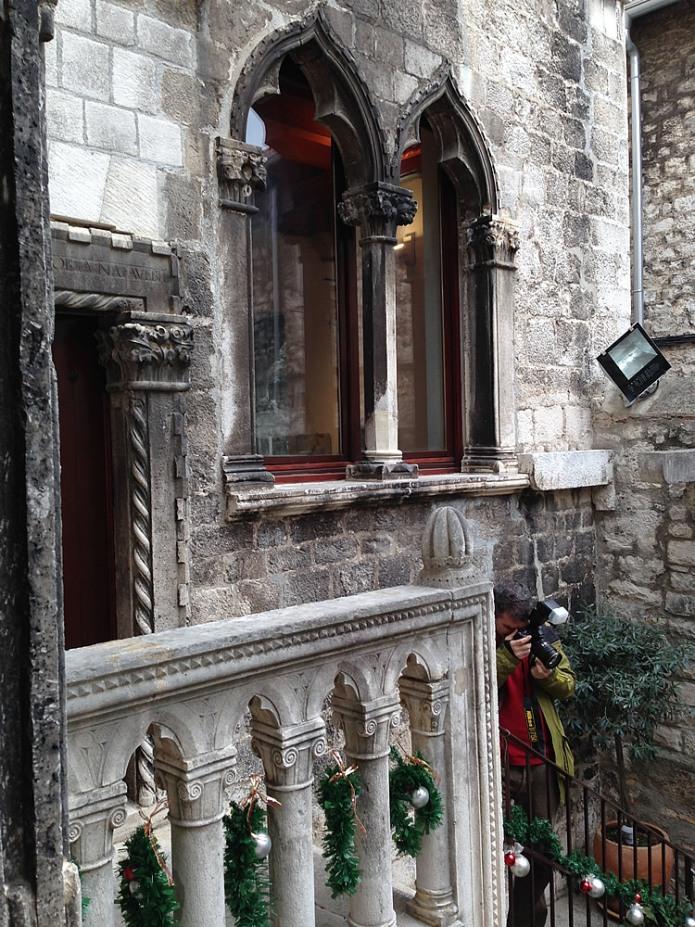 Venetian-style windows