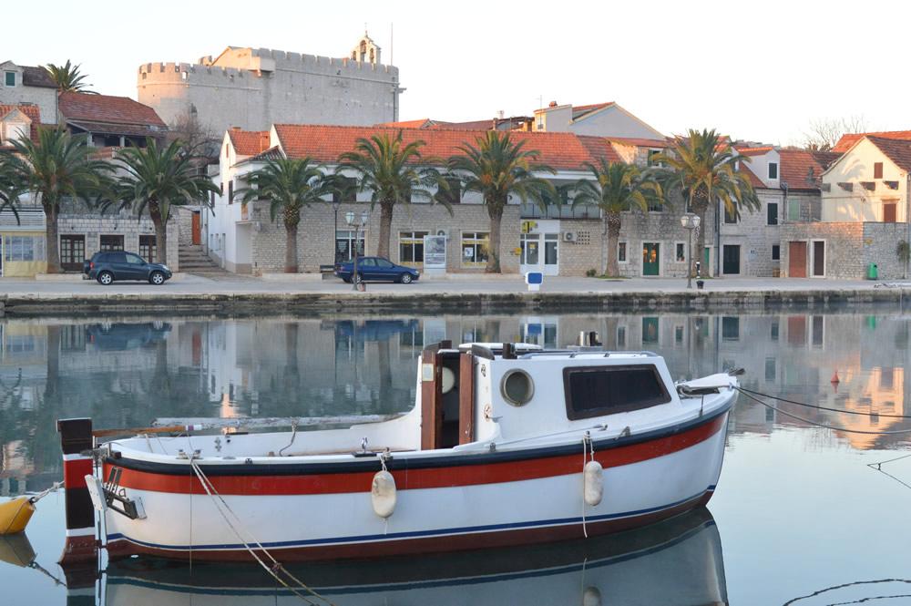 Vrboska harbour