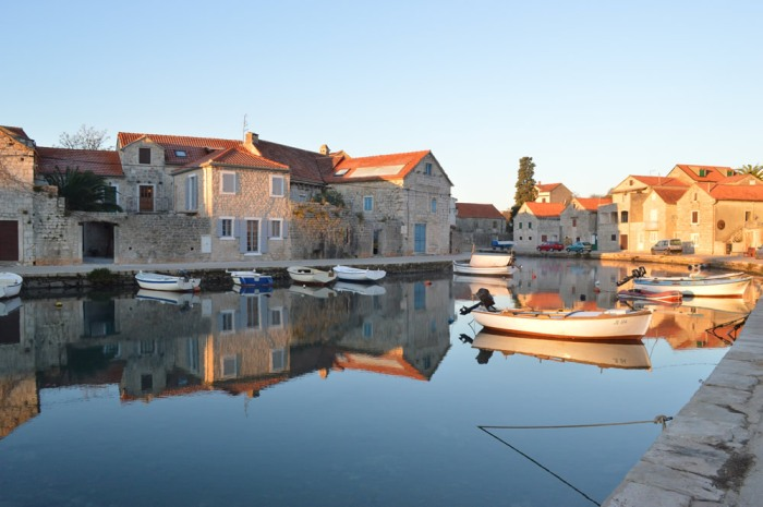 Upper harbour, morning light