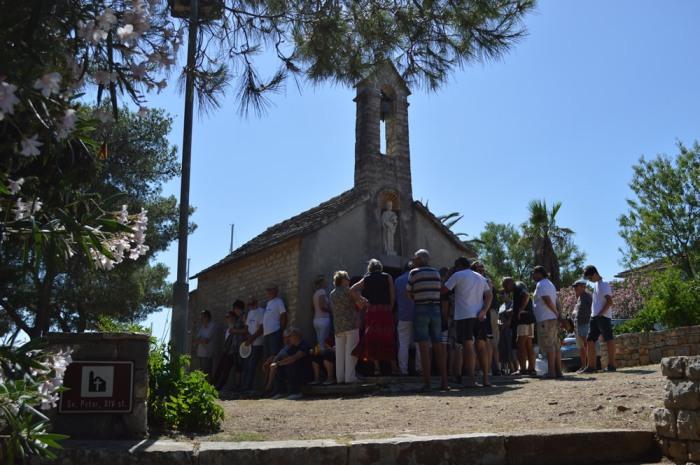 Service at Sv Petar
