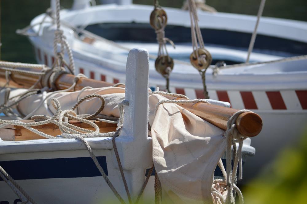 Yard and sail