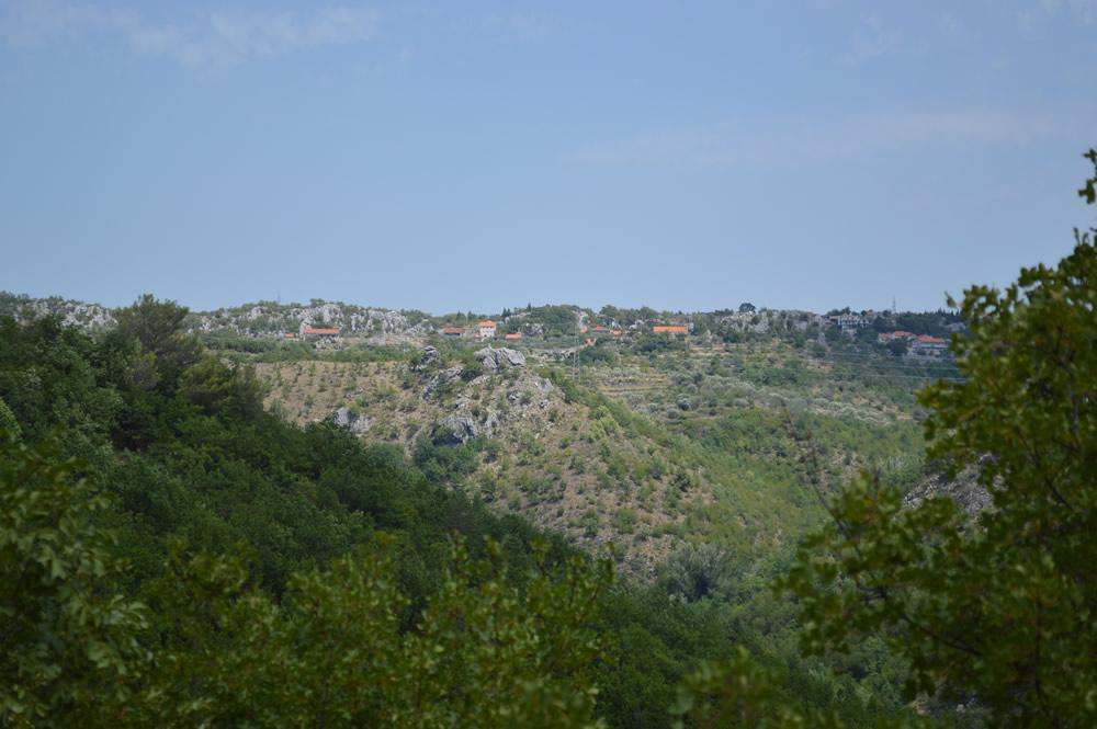 Plateau above the Cetina