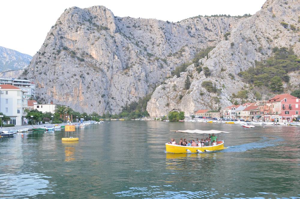 River at Omiš