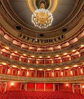 Inside the theatre
