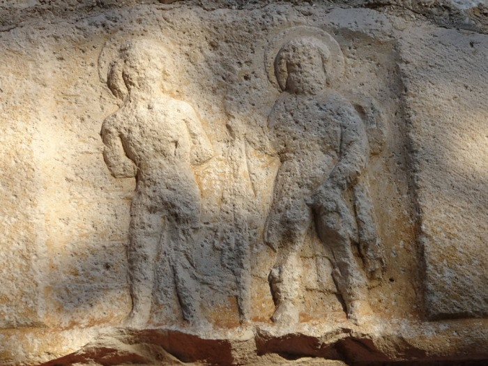 Stone relief