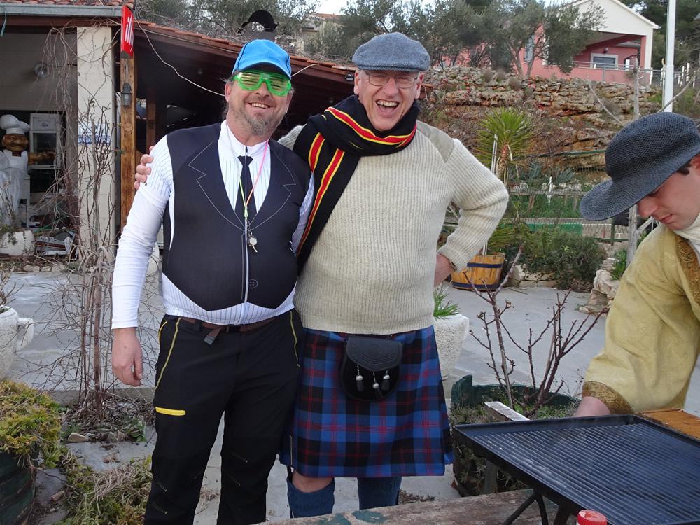 Bicycle repairman & Scotsman