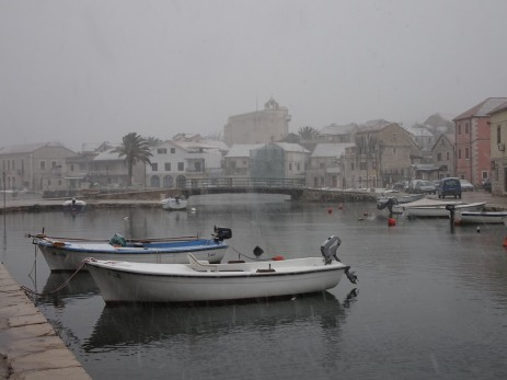 Vrboska harbour