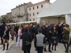 Crowds enjoying the festival