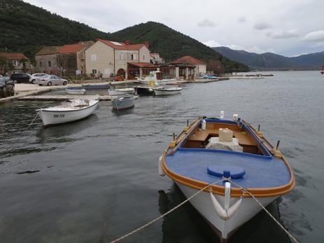 Fishing harbour