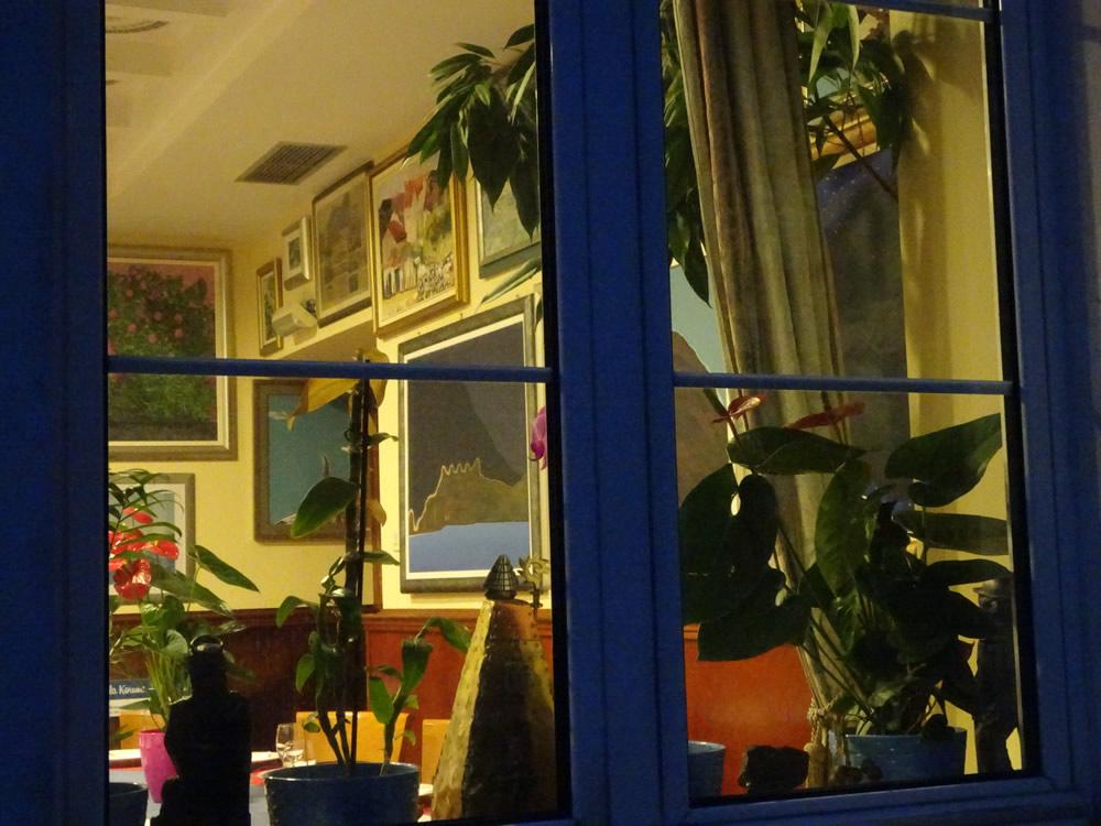 Art through a window