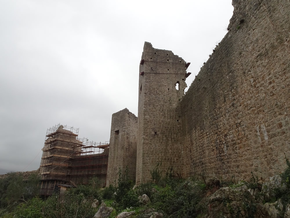 Fortress under repair