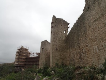 Fortress under repair