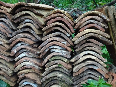 Spare roof tiles