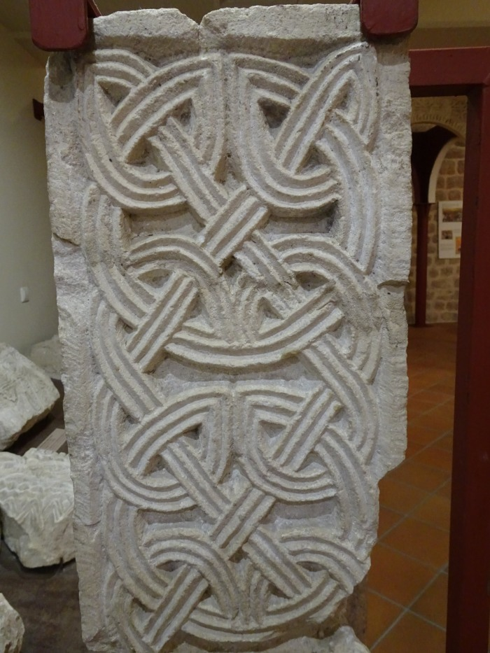 Pilaster from St Peter the Great, 9/10th century